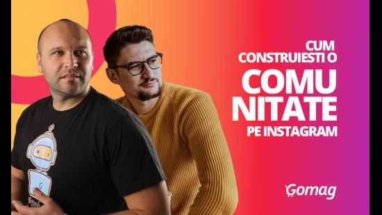 Cum sa construiesti o comunitate pe Instagram, cu Ionut Tuta