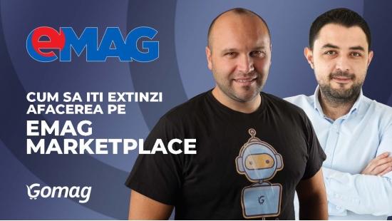 Cum sa iti extinzi afacerea pe eMag Marketplace cu George Iordache de la eMAG