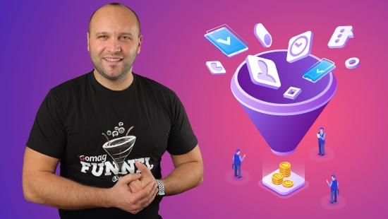 Curs online de marketing - fa-ti propriul sales funnel