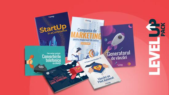 LevelUp Pack: 6 resurse pentru antreprenorii care vor sa isi creasca afacerile