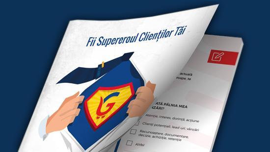 Fii supereroul clientilor tai - Vanzari pe pilot automat