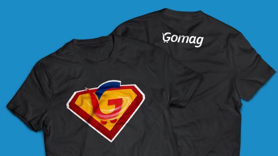 Tricou Super Gomag - Fii Supereroul Clientilor Tai
