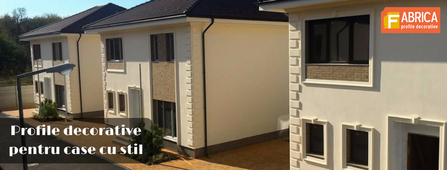 Profile decorative pentru case cu stil