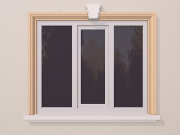 Ancadrament fereastra exterior FP101 120x80mm lungime 2m 0