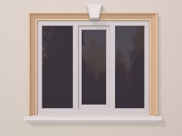 Ancadrament fereastra exterior FP103 120x80mm lungime 2m 0