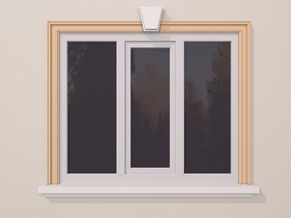 Ancadrament fereastra exterior FP104 110x50mm lungime 2m 0