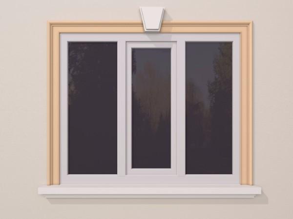 Ancadrament fereastra exterior FP113 120x40mm lungime 2m 0
