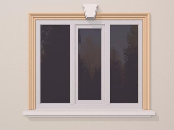 Ancadrament fereastra exterior FP114 115x50mm lungime 2m 0