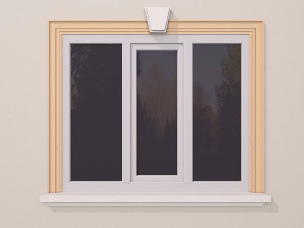 Ancadrament fereastra exterior FP119 130x40mm lungime 2m 0