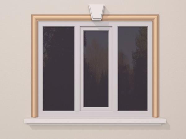 Ancadrament fereastra exterior FP121 100x40mm lungime 2m 0