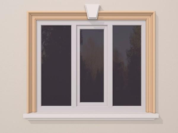 Ancadrament fereastra exterior FP123 135x81mm lungime 2m [0]
