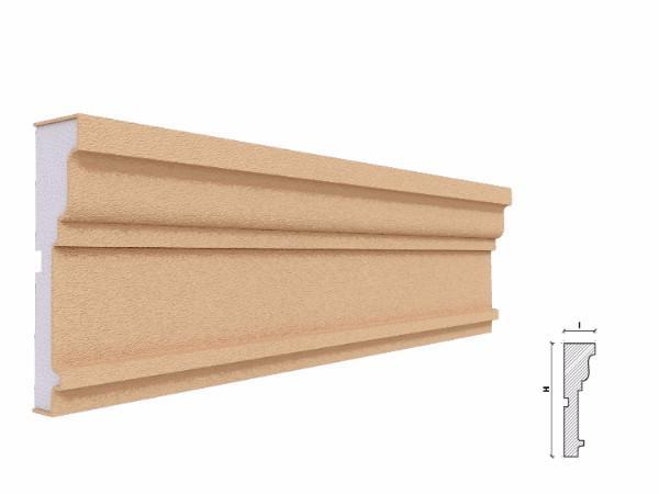 Ancadrament fereastra exterior FP125 130x36mm lungime 2m 1