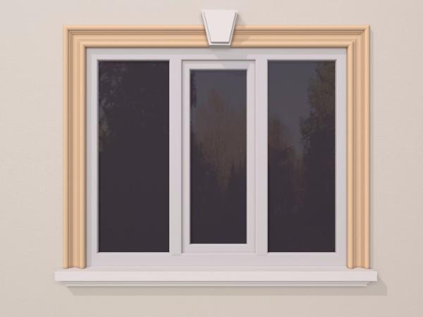 Ancadrament fereastra exterior FP127 150x50mm lungime 2m 0