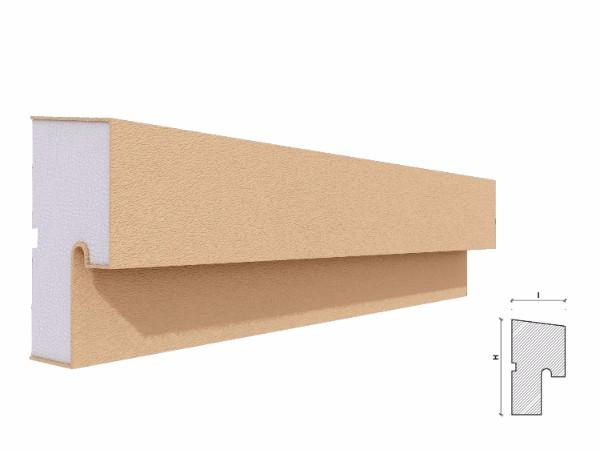 Solbanc fereastra exterior FP204 120x67mm lungime 2m [1]