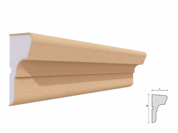 Solbanc fereastra exterior FP211 120x65mm lungime 2m 1