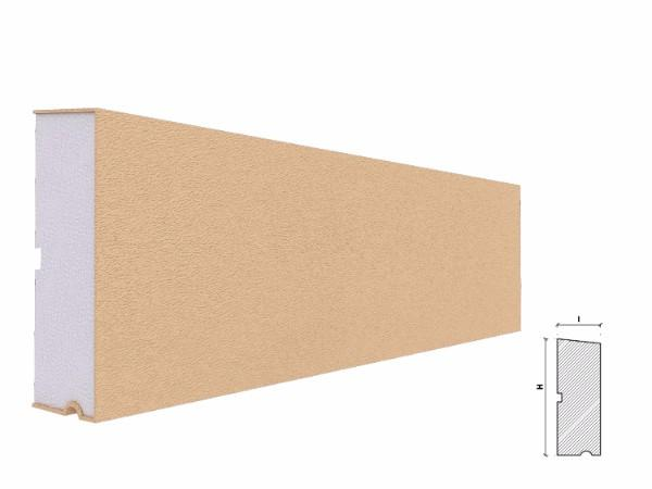 Solbanc fereastra exterior FP218 135x50mm lungime 2m 1