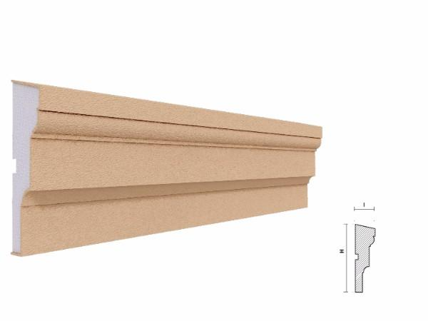 Brau decorativ exterior FP309 120x35mm lungime 2m 1