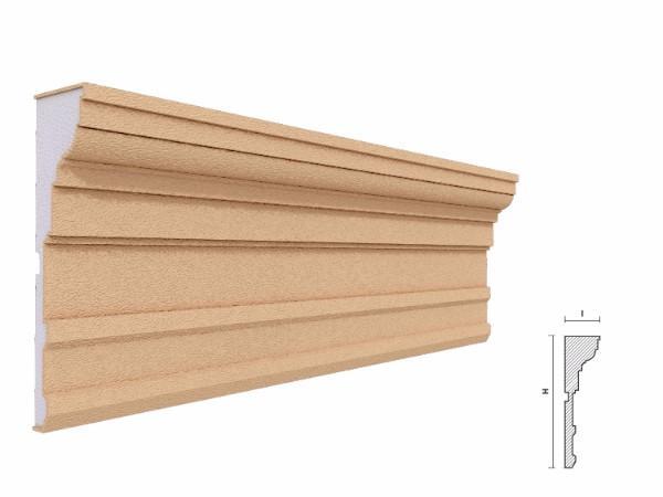 Cornisa decorativa fatada FP414 150x60mm lungime 2 m 1