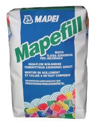 Mortar ancorare expansiv Mapei Mapefill 25 kg 0