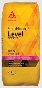 Glet de ciment alb SikaHome Level Cement 20 kg 0