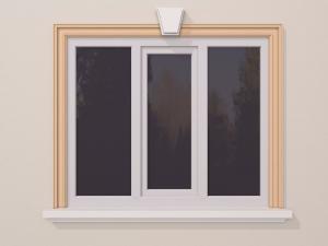 Ancadrament fereastra exterior FP104 110x50mm lungime 2m0