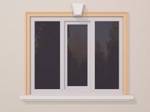 Ancadrament fereastra exterior FP108 100x38mm lungime 2m0