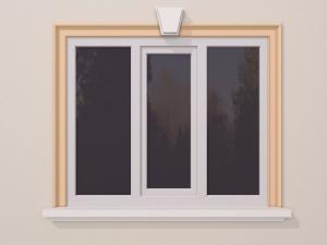 Ancadrament fereastra exterior FP113 120x40mm lungime 2m0