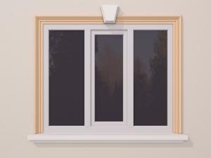 Ancadrament fereastra exterior FP114 115x50mm lungime 2m0