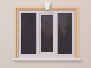 Ancadrament fereastra exterior FP117 140x40mm lungime 2m0