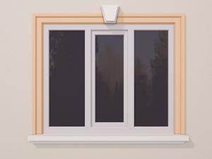 Ancadrament fereastra exterior FP120 140x40mm lungime 2m0