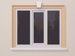 Ancadrament fereastra exterior FP124 130x60mm lungime 2m0