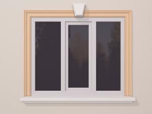 Ancadrament fereastra exterior FP125 130x36mm lungime 2m0