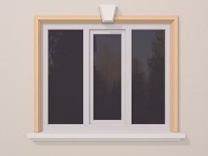 Ancadrament fereastra exterior FP128 110x53mm lungime 2m0