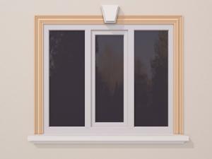 Ancadrament fereastra exterior FP129 120x30mm lungime 2m0