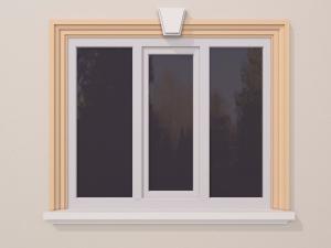Ancadrament fereastra exterior FP130 146x63mm lungime 2m0