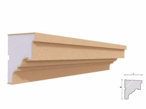 Solbanc fereastra exterior FP207 100x90mm lungime 2m1