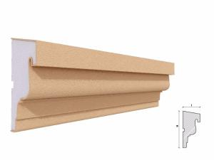 Solbanc fereastra exterior FP210 130x60mm lungime 2m1