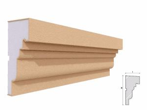 Solbanc fereastra exterior FP212 150x72mm lungime 2m1