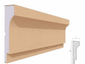 Brau decorativ exterior FP301 200x60mm lungime 2m1