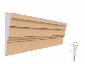 Brau decorativ exterior FP302 150x45mm lungime 2m1