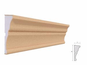 Brau decorativ exterior FP308 135x50mm lungime 2m1