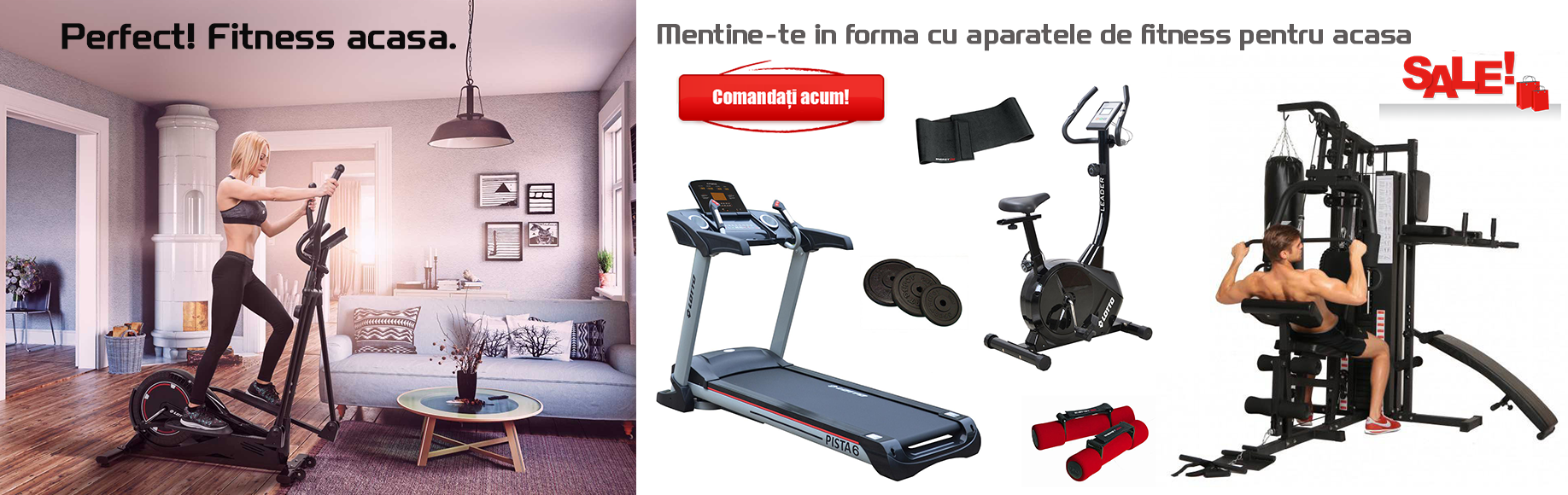 Promotie aparate fitness