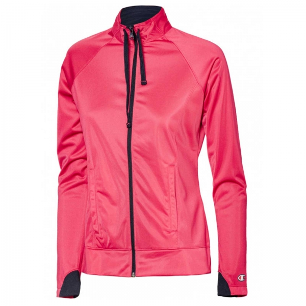 Trening femei Champion Trening Full Zip Suit roz/gri-big