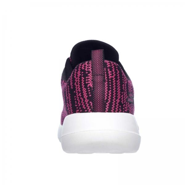 Pantofi sport dama Skechers GO WALK JOY RAPTURE negru/roz/alb-big