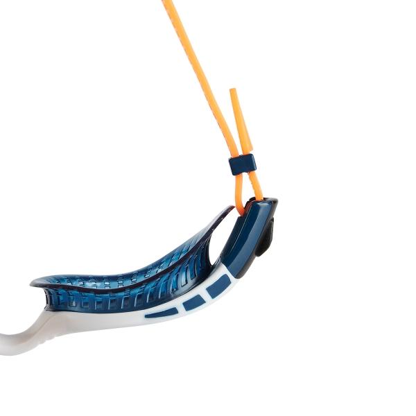 Ochelari inot adulti Speedo Futura Biofuse Flexiseal triathlon portocaliu-big