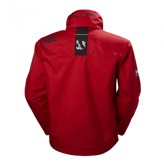 Geaca sporturi acvatice/montane barbati Helly Hansen Crew Hooded rosu-big