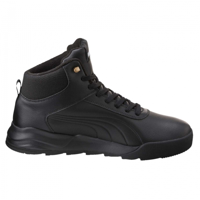 Pantofi sport inalti barbati Puma Desierto Sneaker L  negru-big