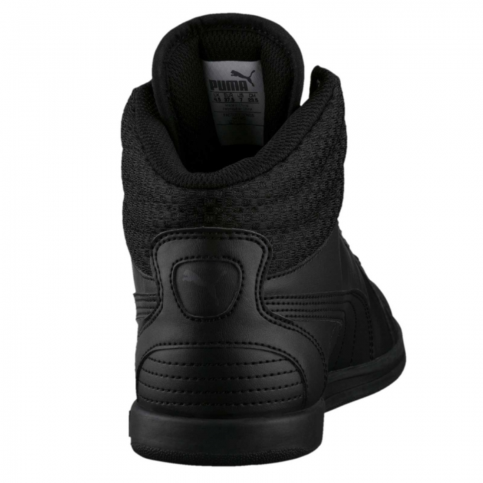 Pantofi sport inalti femei Puma Ikaz Mid v2 negru-big