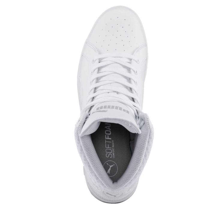 Pantofi sport inalti femei Puma Ikaz Mid v2 alb-big