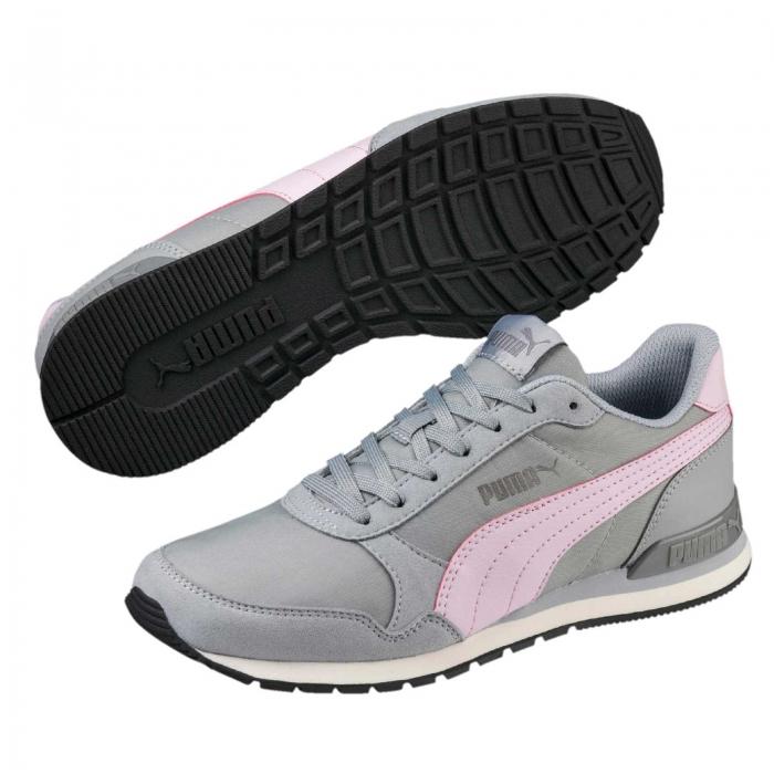 Pantofi sport femei Puma ST Runner v2 NL gri/roz-big